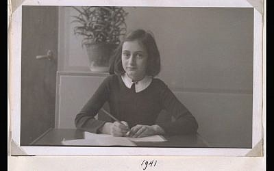 An image of Anne Frank from the Beyond the Story iPad app of The Diary of a Young Girl (Photo credit: Courtesy Beyond the Story)