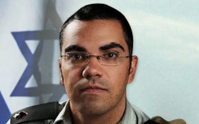 Avichay Adraee's official IDF photo, via Facebook (photo credit: Publicity)