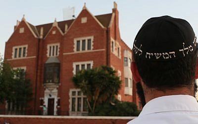 Illustrative photo of Chabad activities. (photo credit: Nati Shohat/Flash90)