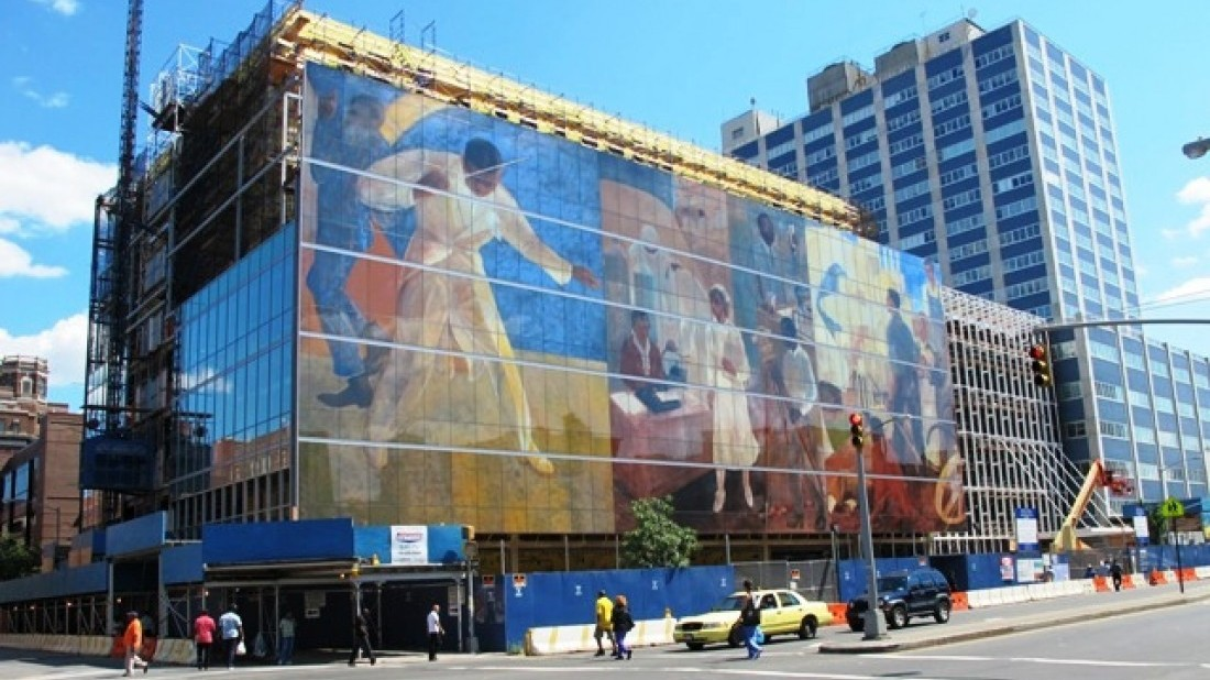 Exterior of Harlem Hospital (Courtesy: Dip-Tech)