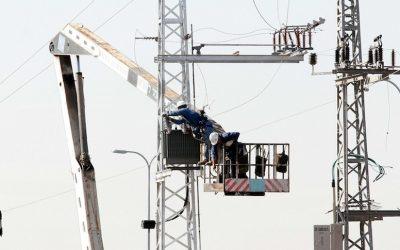 Illustrative photo of electric grid wiring (Photo credit: Roni Schutzer/Flash 90)
