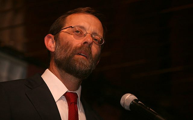 Moshe Feiglin, Likud party candidate, April 2010, (photo credit: Flash90)