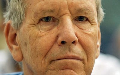 The serious public face of Amos Oz (photo credit: Tomer Neuberg/Flash 90)