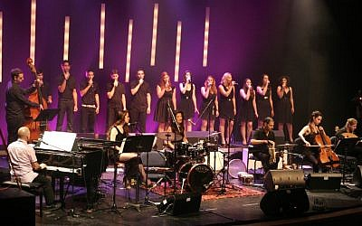 The Israeli Gospel Choir, which performs its American debut over the Martin Luther King, Jr. holiday weekend. (Osnat Karsonansky)