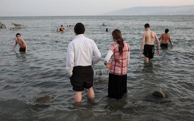 The Sea of Galilee, August 12, 2012 (photo credit: Yaakov Naumi/Flash90)