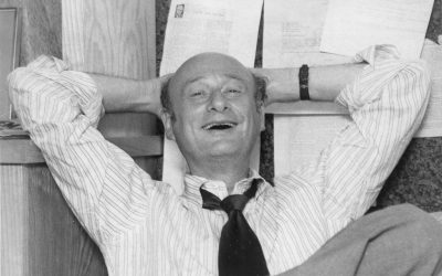 Arguably America's first celebrity mayor, Ed Koch steered New York through some of the city's toughest times. (photo credit: New York Post via Zeitgeist Films)