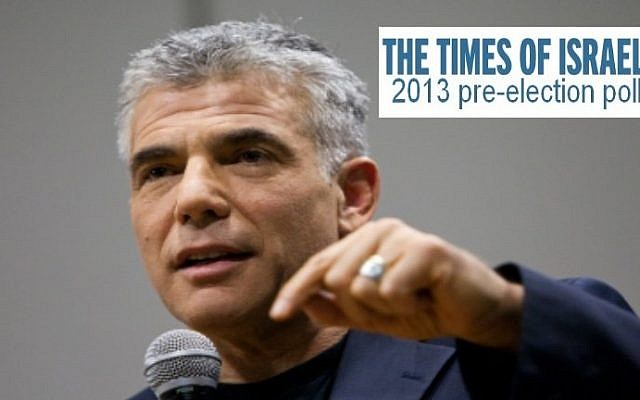 Yair Lapid, head of the Yesh Atid party. (photo credit: Yonatan Sindel/Flash90)