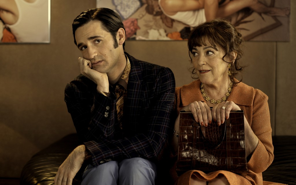 "After a failed fling in Finland, a gay Jewish Frenchman (Nicolas Maury) returns to Paris in time for Passover in ""Let My People Go!,"" a comedy co-starring Almodovar regular Carmen Maura. (Courtesy of Zeitgeist Films)"