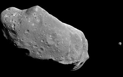 Illustrative: An asteroid (Courtesy NASA)