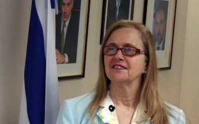 Israel's ambassador to Argentina Dorit Shavit (photo credit: Courtesy)