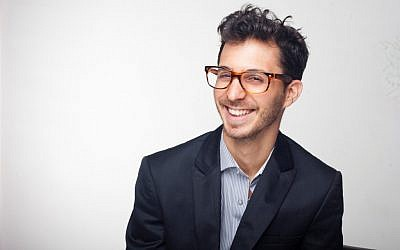 Liron Hershkovitz, the young entrepreneur who's thinking about design, community and putting it all together (photo credit: Ziv Sadeh)