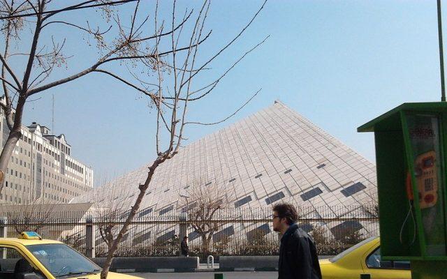 Iran's parliament building (photo credit: CC-BY-SA QSTA/Wikimedia commons)