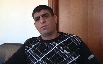 Ziad Sabatin (photo credit: Elhanan Miller/Times of Israel)