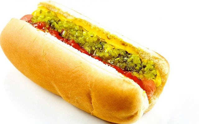 An illustrative photo of a hotdog (CC-BY-TheCulinaryGeek/Flickr)
