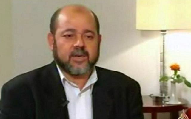 Hamas official Moussa Abu Marzouq (YouTube image grab)