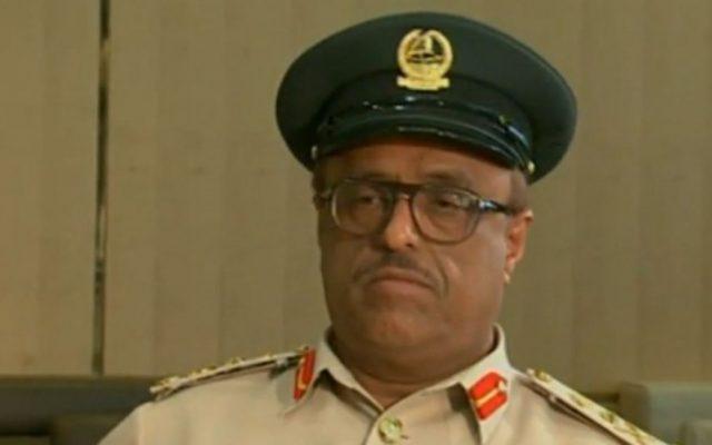 Dahi Khalfan Tamim (screen capture AlJazeeraEnglish/YouTube)