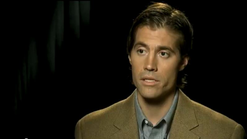 James Foley in 2011. (screen capture: Youtube/CNN)