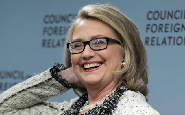 Hillary Rodham Clinton (photo credit: AP/Manuel Balce Ceneta)