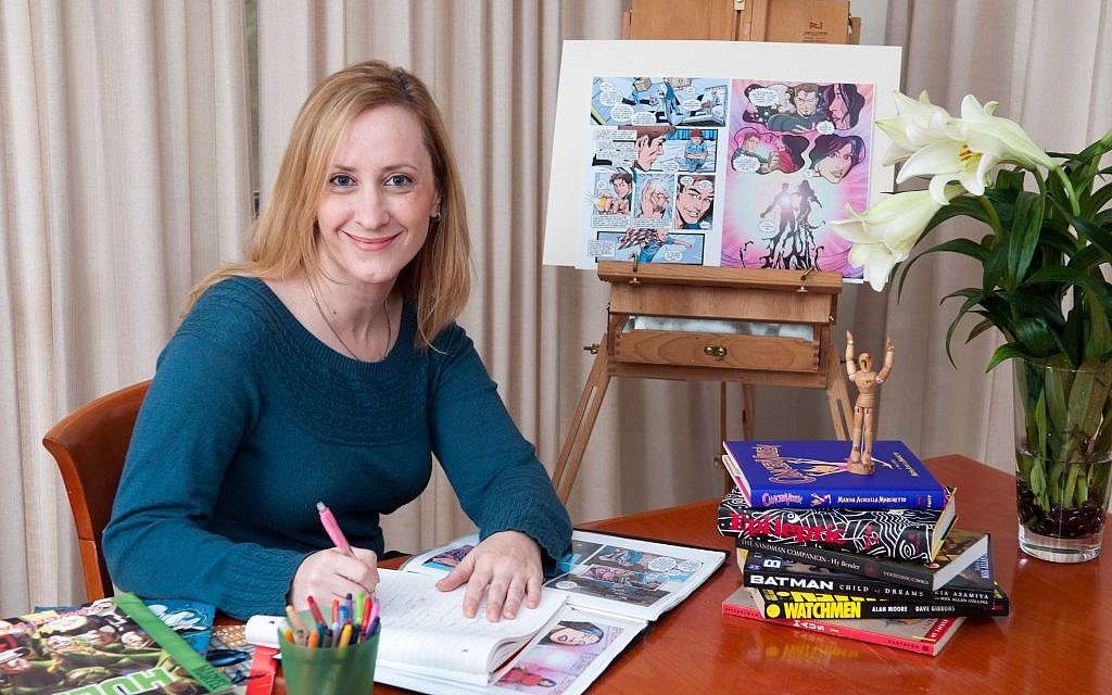 An art therapist with a background in Jewish studies, Shira Frimer hopes her new book will inspire young children fighting cancer. (Avi Jacob)
