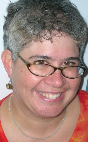 """""""For kids in LGBT families, their parents' being gay is not necessarily the main issue in their lives,"""" says author Elisabeth Kushner. (Courtesy of Kar-Ben Publishing)"""