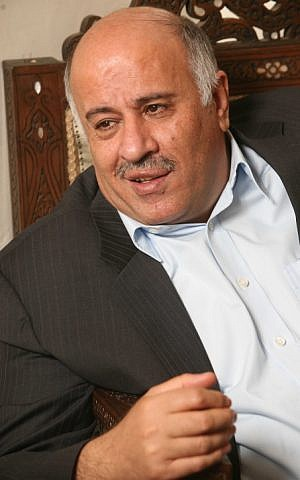 Fatah member Jibril Rajoub, 2008. (photo credit: Nati Shohat/Flash90)