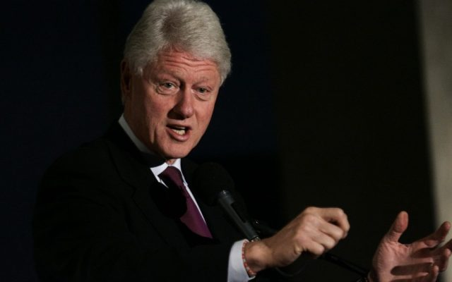 Former US president Bill Clinton (Uri Lenz/Flash90)