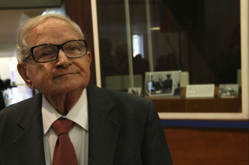 Former Mossad official and government minister Rafi Eitan (photo credit: Kobi Gideon/Flash90)