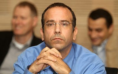 Finance Ministry budget director Gal Hershkovitz attends a Knesset Finance Commitee meeting on January 18 (photo credit: Miriam Alster/Flash90)