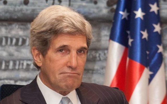 US Secretary of State John Kerry (photo credit: Uri Lenz/Flash90)
