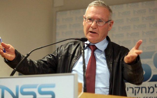 Amos Yadlin, former director of military intelligence (photo credit: Gideon Markowicz/Flash90/File)
