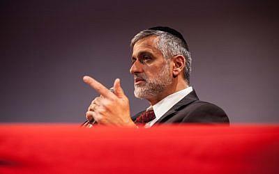 Shas leader Eli Yishai (photo credit: Uri Lenz/Flash90)