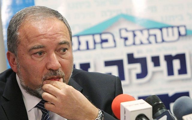 Former foreign minister Avigdor Liberman (photo credit: Miriam Alster/Flash90)