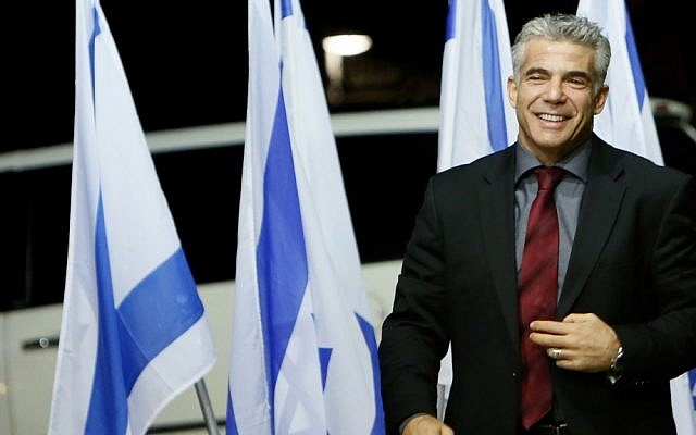 Yesh Atid leader Yair Lapid (photo credit: Miriam Alster/Flash90)