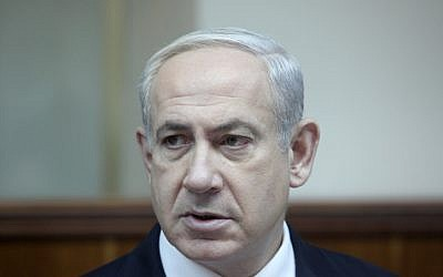 Prime Minister Benjamin Netanyahu, February 2013 (photo credit: Marc Israel Sellem/Flash90)
