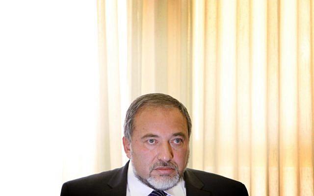 Yisrael Beytenu leader Avigdor Liberman (photo credit: Miriam Alster/Flash90)