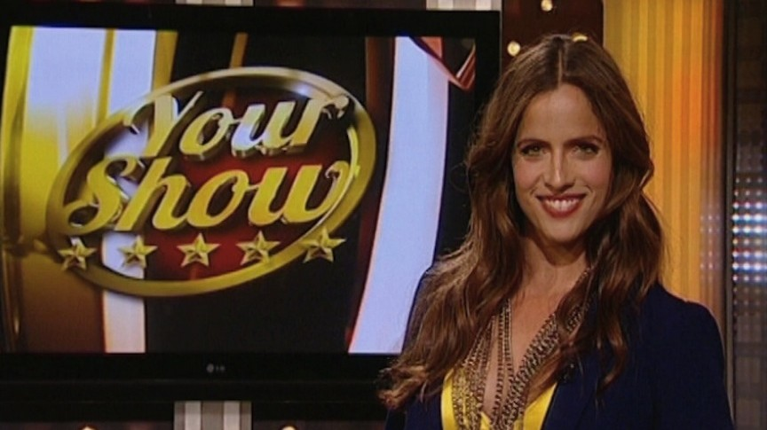 Noa Tishby on the set of 'Your Show' (Photo credit: Courtesy)