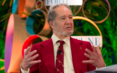Jared Diamond has been assailed by critics over claims that ancient societies were more violent than modern ones. (photo credit: CC BY-ND 2.0/ Fortune Live Media via Flickr.com)
