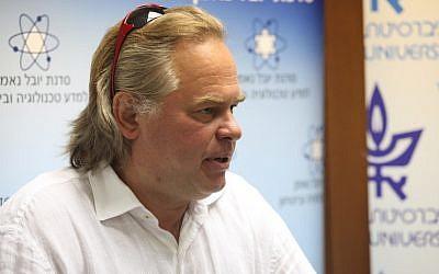 Eugene Kaspersky, head of Kaspersky Lab (Photo credit: Courtesy Tel Aviv University)