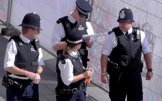 Illustrative photo: London Metropolitan Police. (CC BY/David Holt London via Flickr.com)