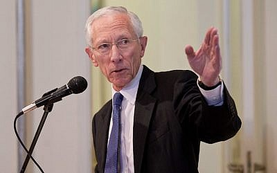 Former Bank of Israel Governor Stanley Fischer (photo credit: Courtesy JPC)