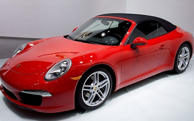 A Porsche 991 convertible (photo credit: CC-BY Calm Vistas/Wikimedia Commons)