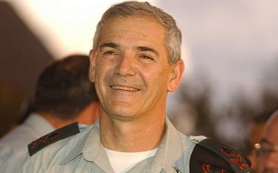 Maj. Gen. (res.) Avi Mizrahi, former commander of the IDF's Central Command (photo: Flash90)