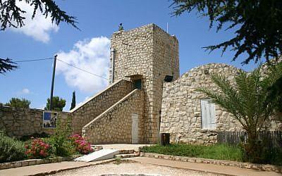 Fortress at Biriya (photo credit: Shmuel Bar-Am)