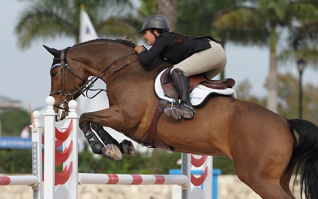 Danielle Goldstein has big plans for equestrian in Israel, but continues to train in her native US because of its superior facilities. (Courtesy of Danielle Goldstein)