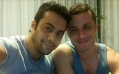 A screenshot from a video created by Liran Altman Kadury and Yuval Kadury Altman in order to raise money for a child (photo credit: screen capture YouTube)