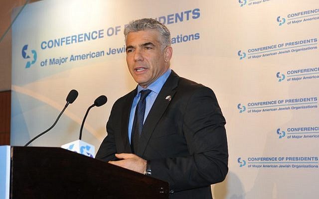 MK Yair Lapid (photo credit: Avi Hayun)