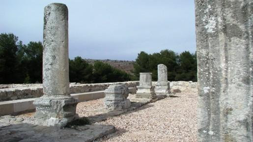 Ruins of the Naboriya synagogue (photo credit: Shmuel Bar-Am)