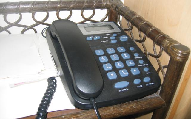A home phone (Illustrative photo credit: CC BY/tawalker via Flickr.com)