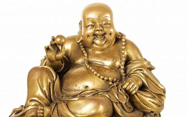 Buddha's are banned in Iran (A buddha via Shutterstock.)