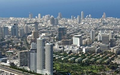 As far as the eye can see: the Tel Aviv view from the Azrieli observatory (photo: Courtesy)